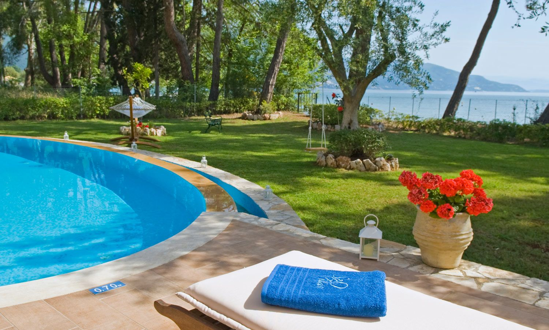 Seaside Villa, Luxury Corfu