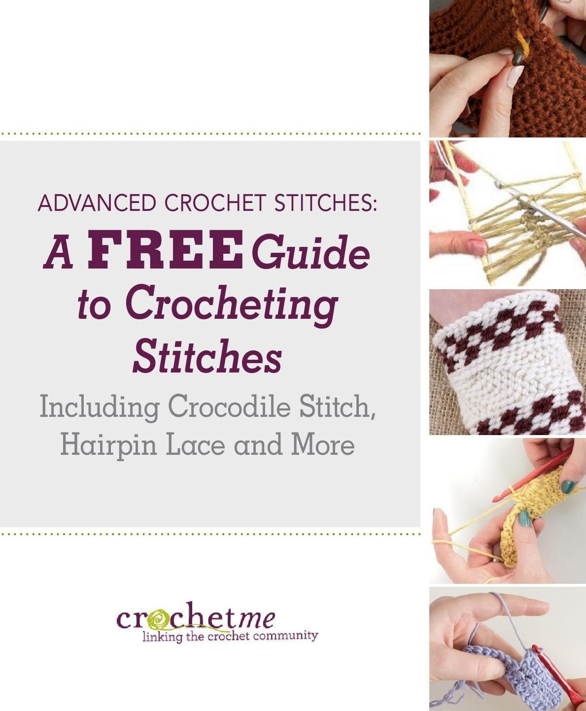 #ClippedOnIssuu from Advanced crochet stitches