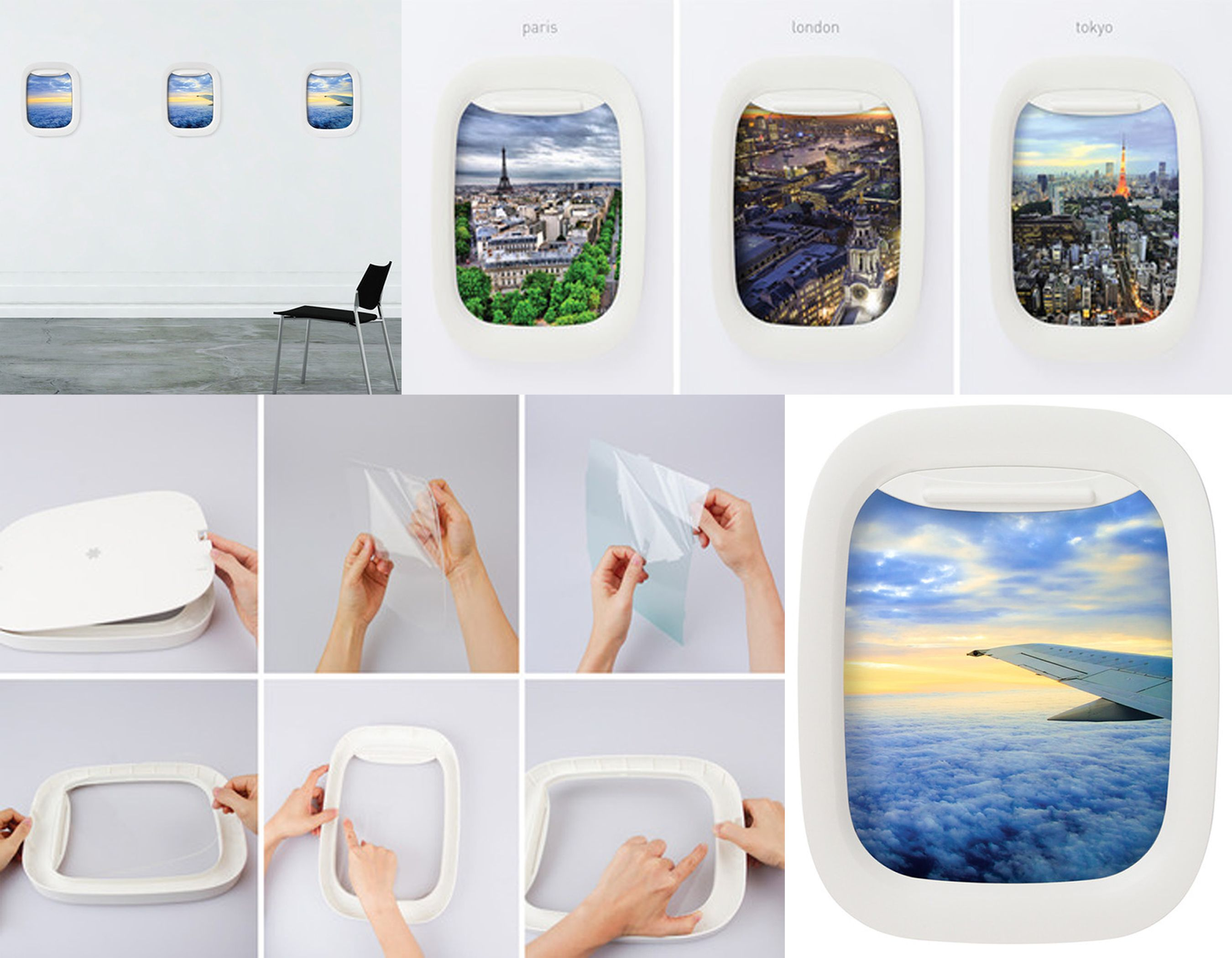 Airplane Window Picture Frames - Absolutely adore this idea! | Tips ...