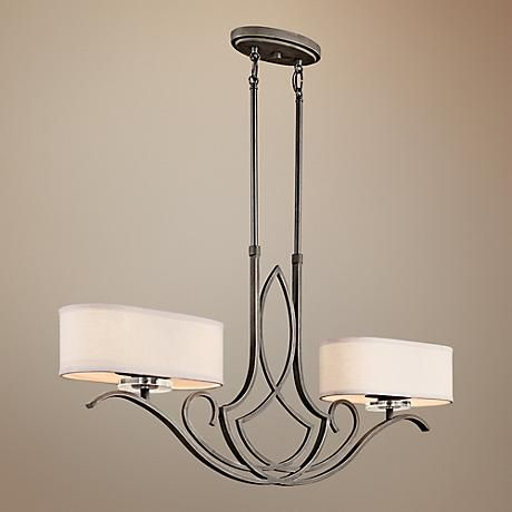 Kichler Leighton Collection Light Island Chandelier For The Home - 2 light island chandelier