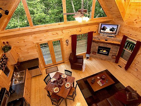 Gatlinburg...my love rented a HUGE cabin for us this weekend!!! LOVE when she surprises me!!! ♥