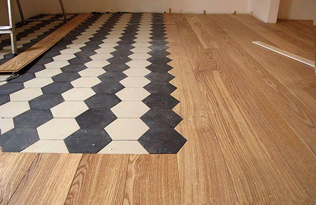 abbinamento parquet con altri pavimenti - Cerca con Google ...
