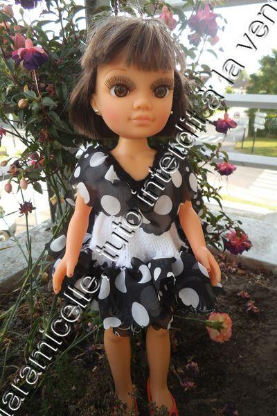 tuto gratuit poupée: robe romantique