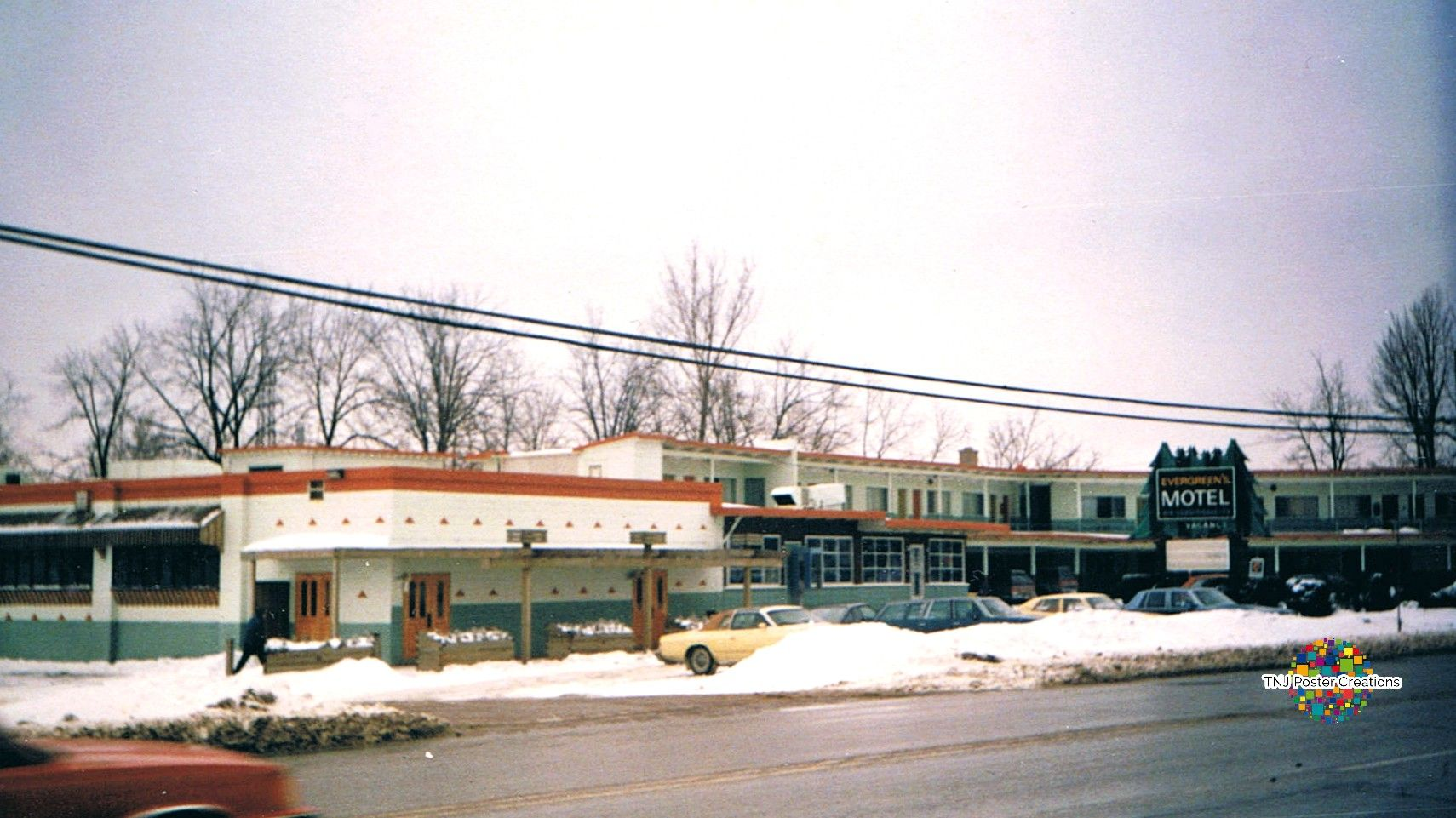 Evergreens Motel, located on Highland Road in Kitchener, now ...