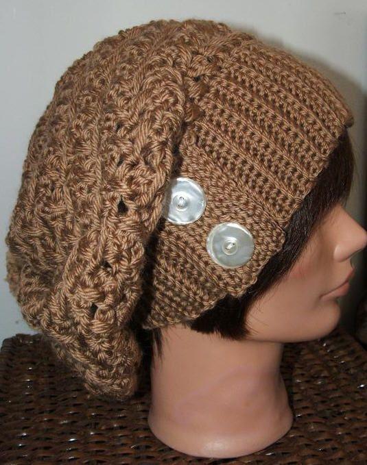 MioMi Slouch Beret-Free Crochet Pattern | Pinterest | Hüte, Mütze ...