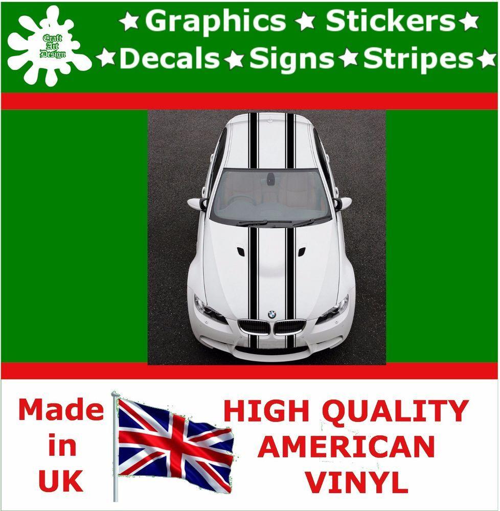 Duel 5 Racing Stripes Stickers Decal Art Car Auto Rally Graphics Sport Hi 2 5 [ 1000 x 978 Pixel ]