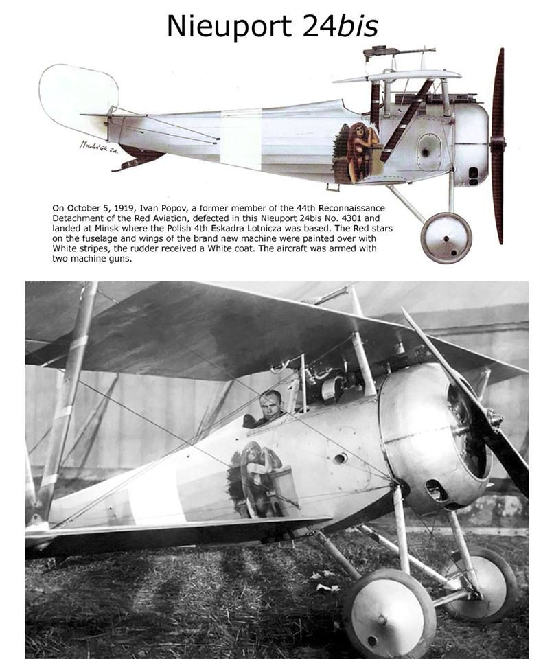 Nieuport 24 bis | WWI Aircraft Color profiles pictures