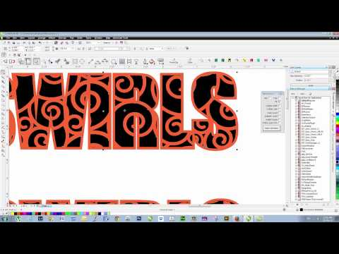 Playing With Text in Corel YouTube Coral draw, Graphic