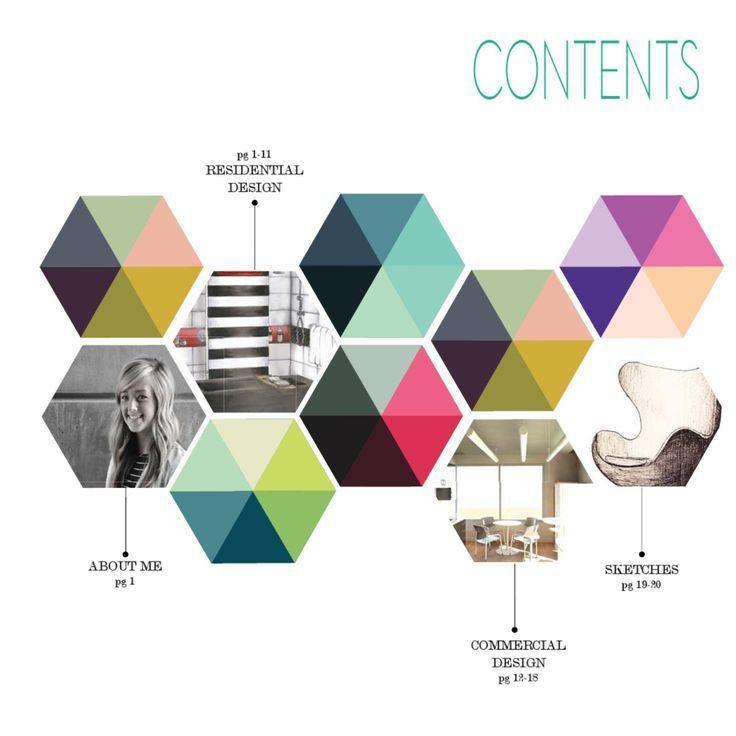 interior design student portfolio examples - Google Search | I ...