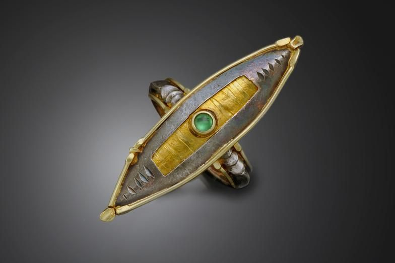 Gold and Silver | Vrooman Designs | Asheville Jewelry Designer