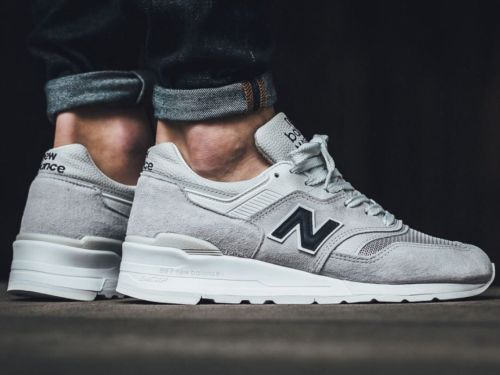a90a57986accb New Balance Men 997 Suede M997JOL - Made In USA white off white navy ...