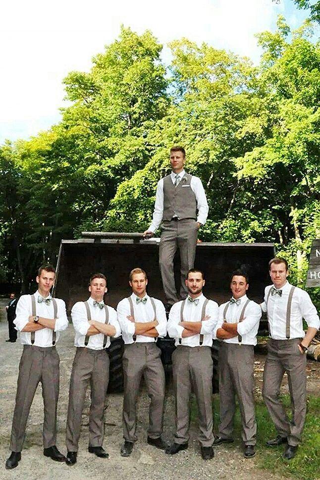 Pin by Bridalide on Wedding Fashion Ideas  Wedding Groom attire Fall groomsmen attire