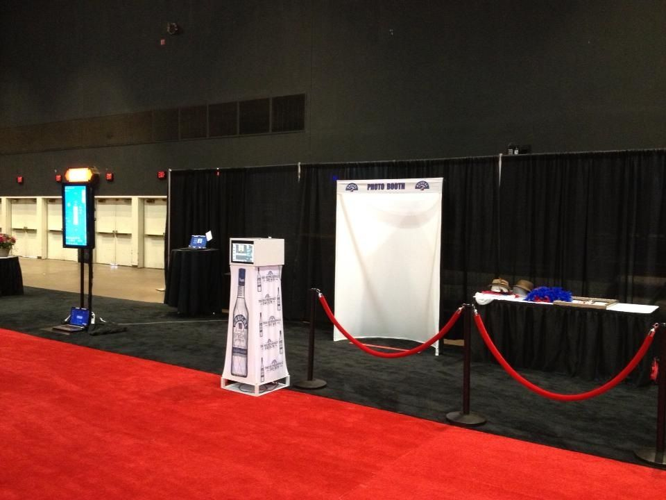 Pre-Event.  Brugal Rum Photo Station at Fedway Liquor show in Atlantic City, NJ!