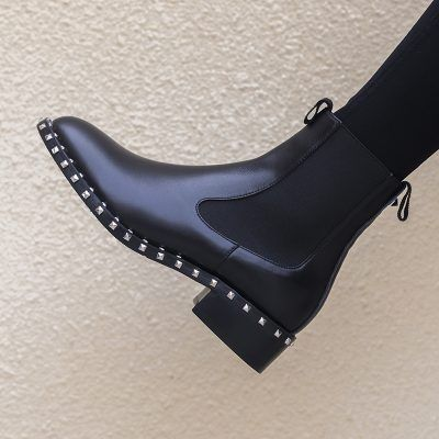 Chiko Cicely Studded Chelsea Ankle Boots