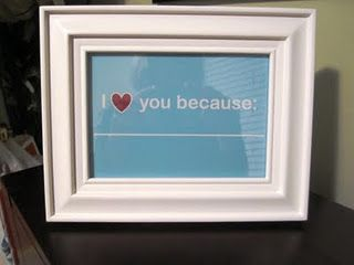 DIY wedding gift so new couple can leave messages for each other. Would have to provide usage instructions for full effect.