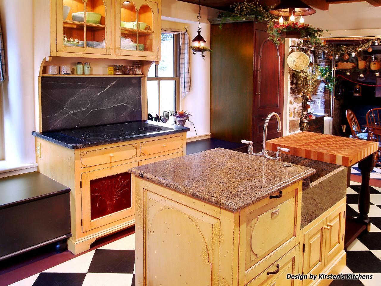 Mixing Kitchen Cabinet Styles And Finishes Kitchen Cabinet Styles Diy Kitchen Countertops Kitchen Cabinet Colors
