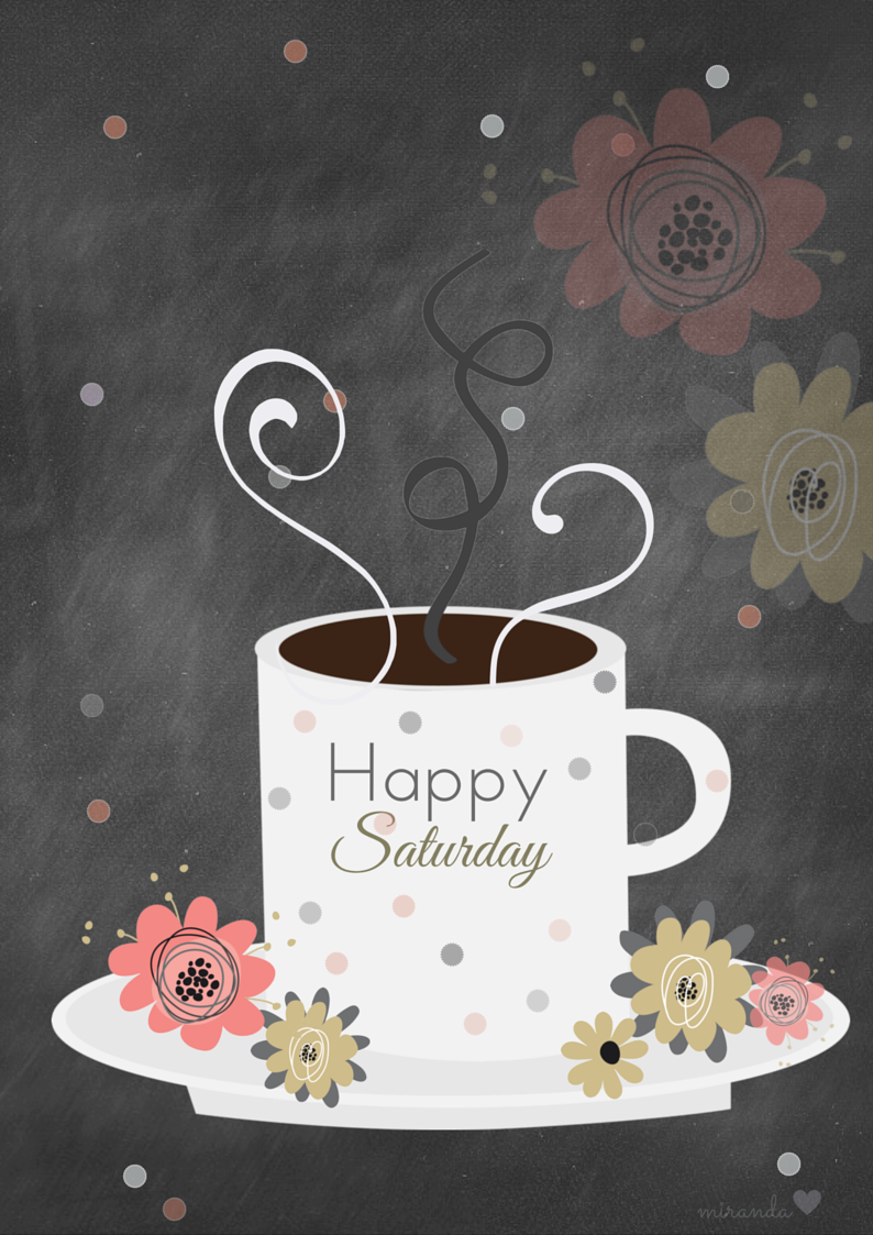 Happy Saturday sweet friends!! Hope you are all having a