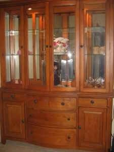 Broyhill Continental Tapestry China Hutch Ebay For The