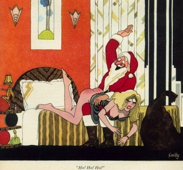 Santas Definitivt på den frække liste, som vi alle har hørt-3400