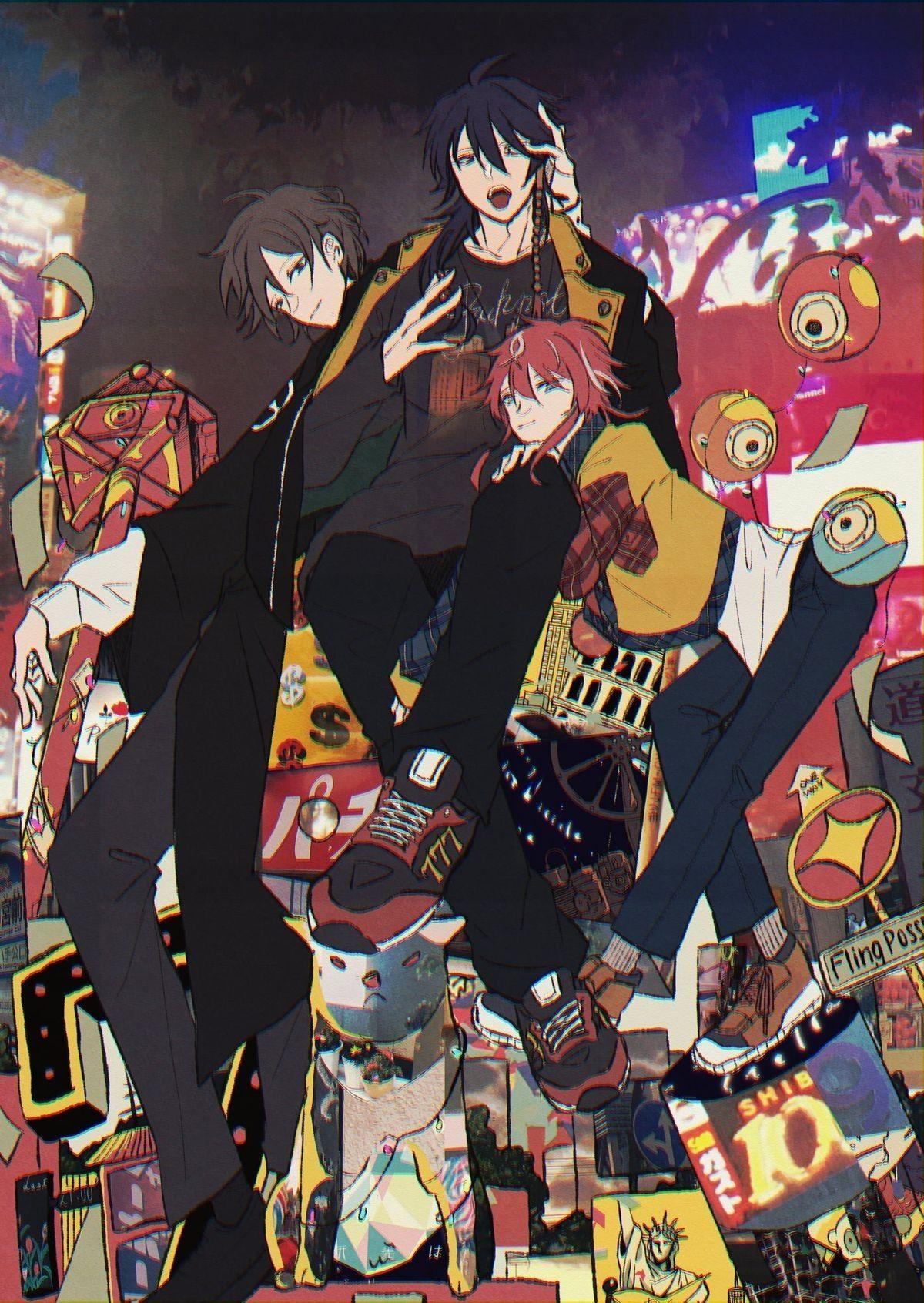 ¡Galería de Hypnosis Mic! in 2020 Rap battle, Anime