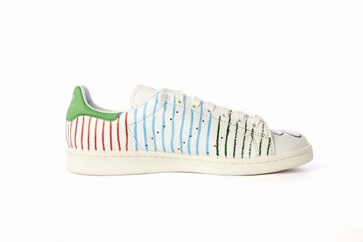 grand choix de f5cd2 a6d41 Stan Smith rayures by Pharell Williams | CMF | Stan smith ...