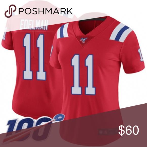 womens red edelman jersey