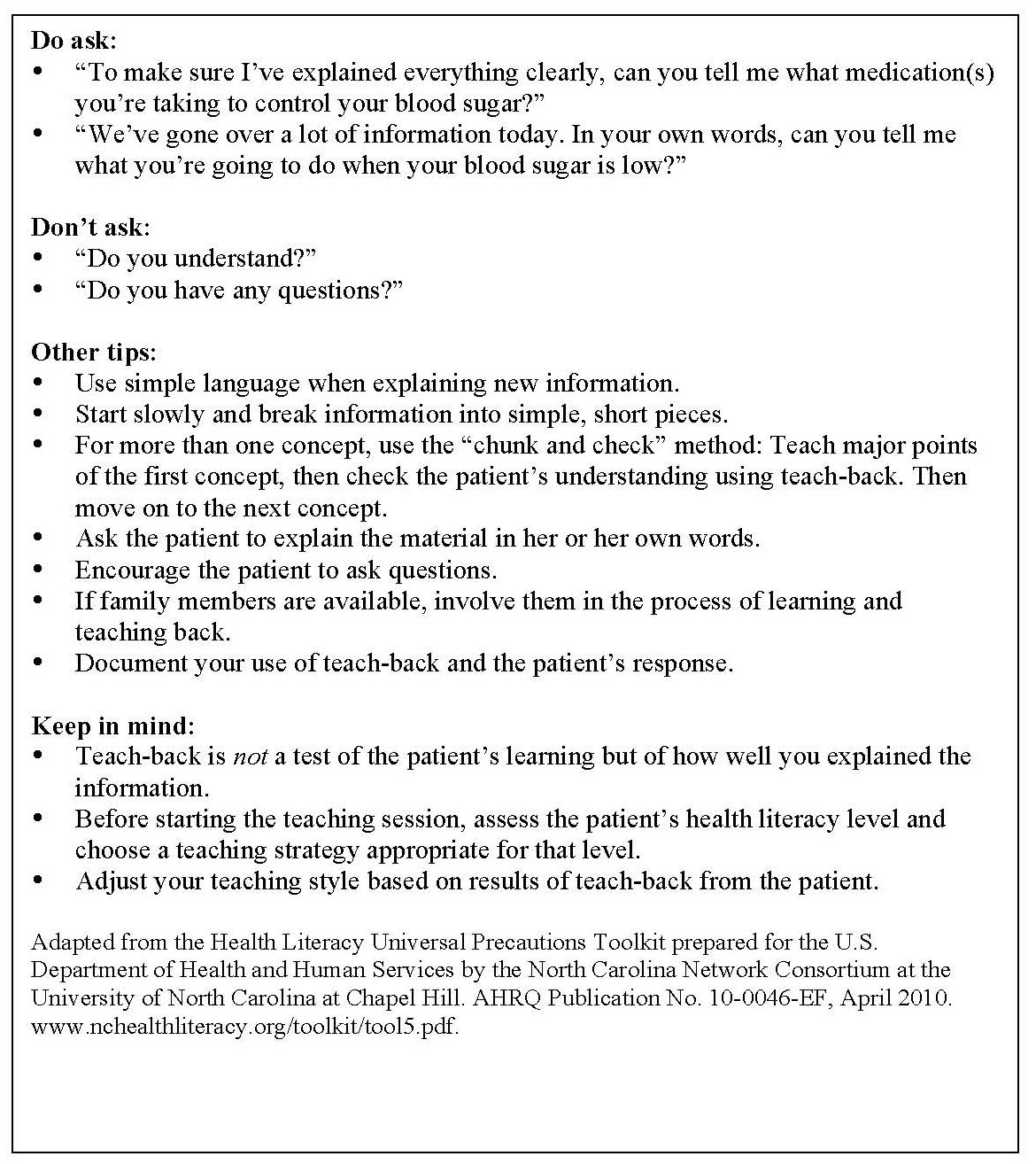 Patient Education Essays (Examples)