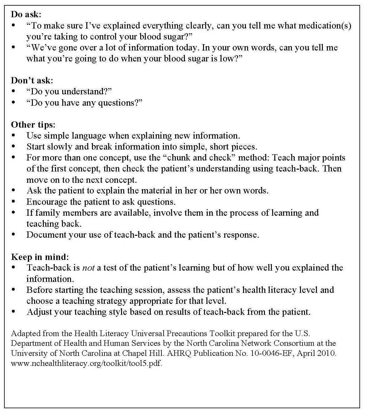 How to Make a Nursing Patient Teaching Plan