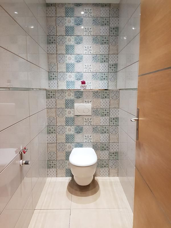 Faïence mur blanc et bleu, Decor haussmann carreau ciment l.25 x L ...