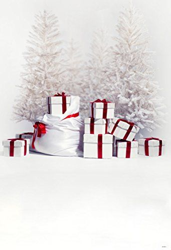 5x7ft White Christmas Gift Photography Backgrounds No Wri Https