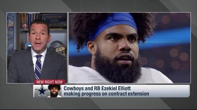 Ezekiel Elliott is flying back to Dallas in case his