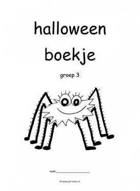 Knutselen Halloween Groep 3.Werkboekje Halloween Groep 3 Halloween Halloween