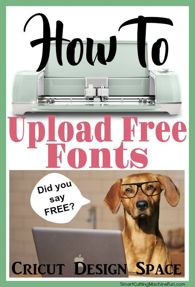 Upload Fonts To Cricut Design Space Guide #cricutvinylprojects