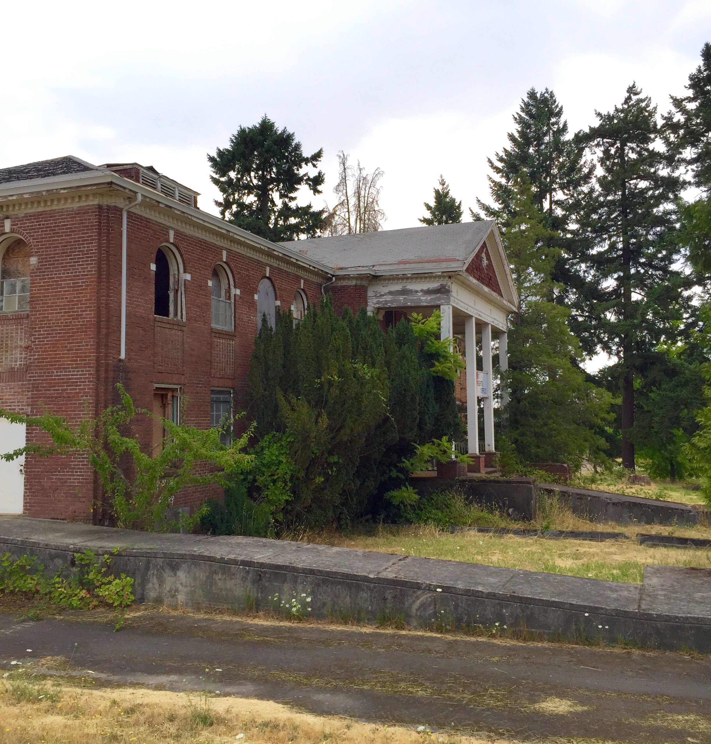 Abandoned Oregon State Institute For The Feeble Minded
