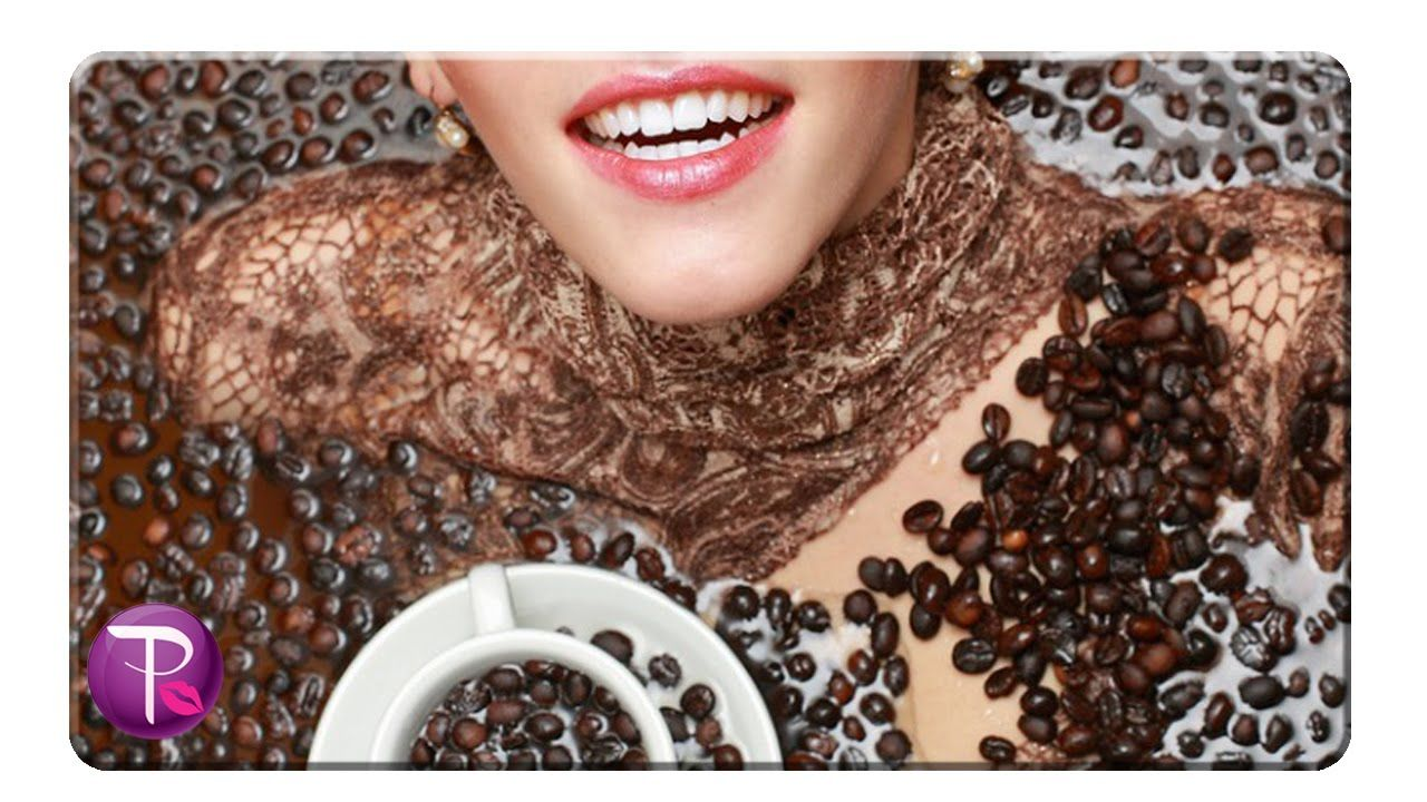 coffee face scrub before and after