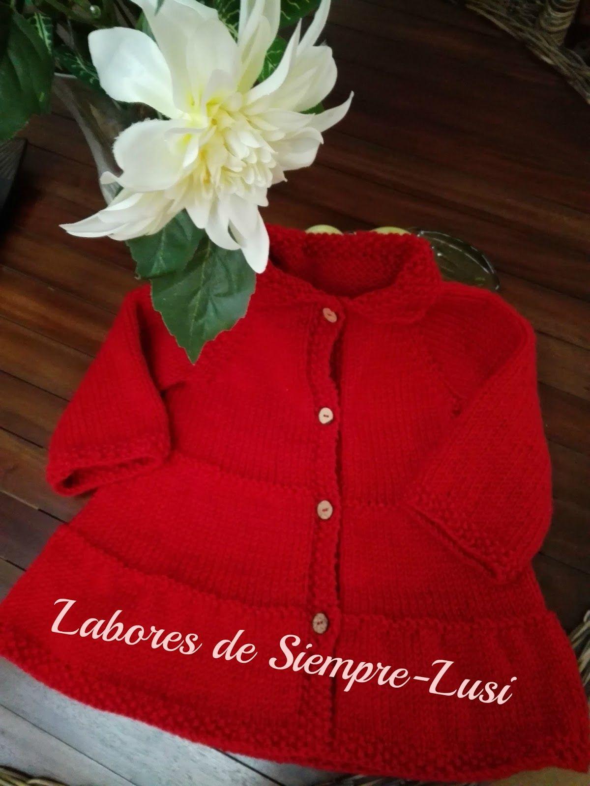 Abrigos de nina color rojo