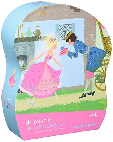 Crocodile Creek Cinderella Junior Jigsaw Puzzle 72 Piece 14 X 19 Details Can Be Found By Clicking On The I Crocodile Creek Floor Puzzle Board Games For Kids