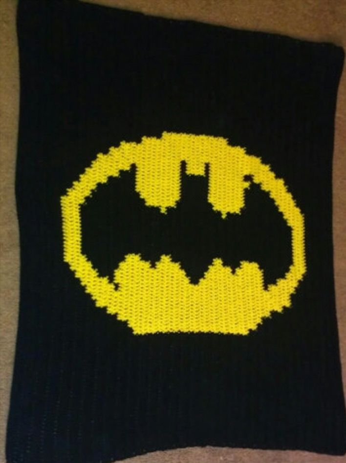 Batman Crochet Projects The Very Best Collection | Pinterest | Stricken