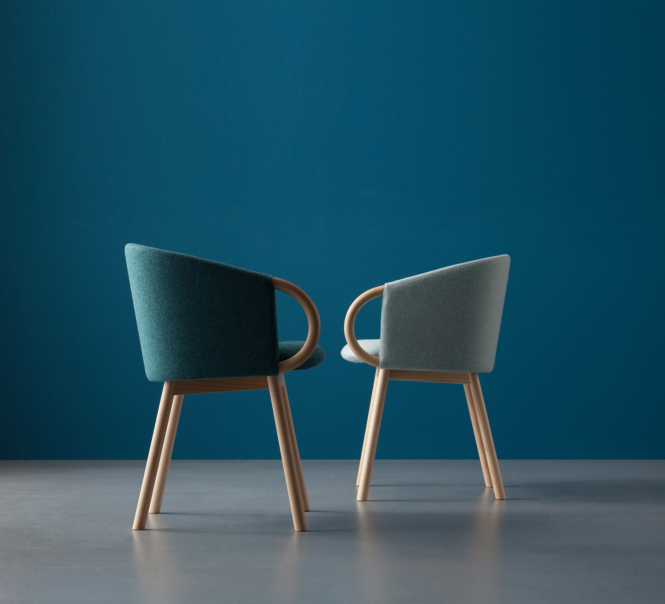 piccole poltrone o comode sedie, si accostano al tavolo da pranzo ... - Sedia Soggiorno Design Patricia Cattelan