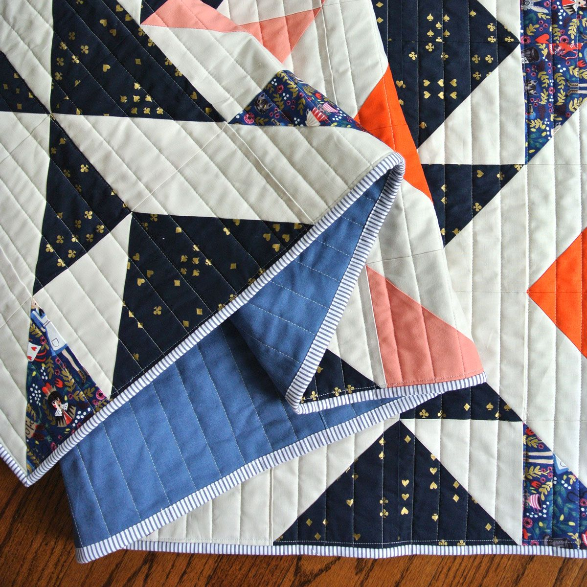 Nordic Triangles Quilt Pattern Download Suzy Quilts Triangle Quilt Triangle Quilt Pattern Scandinavian Quilts