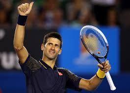 Nole Djokovic, esempio di divertimento, gioia e positività sul campo. Oggi ha dimostrato ancora una volta che il suo rovescio esplosivo non è l'unica e la più importante arma a disposizione nel suo arsenale. Se vinci 6-0 al quinto in una semifinale Slam c'è molto..ma molto di più.....