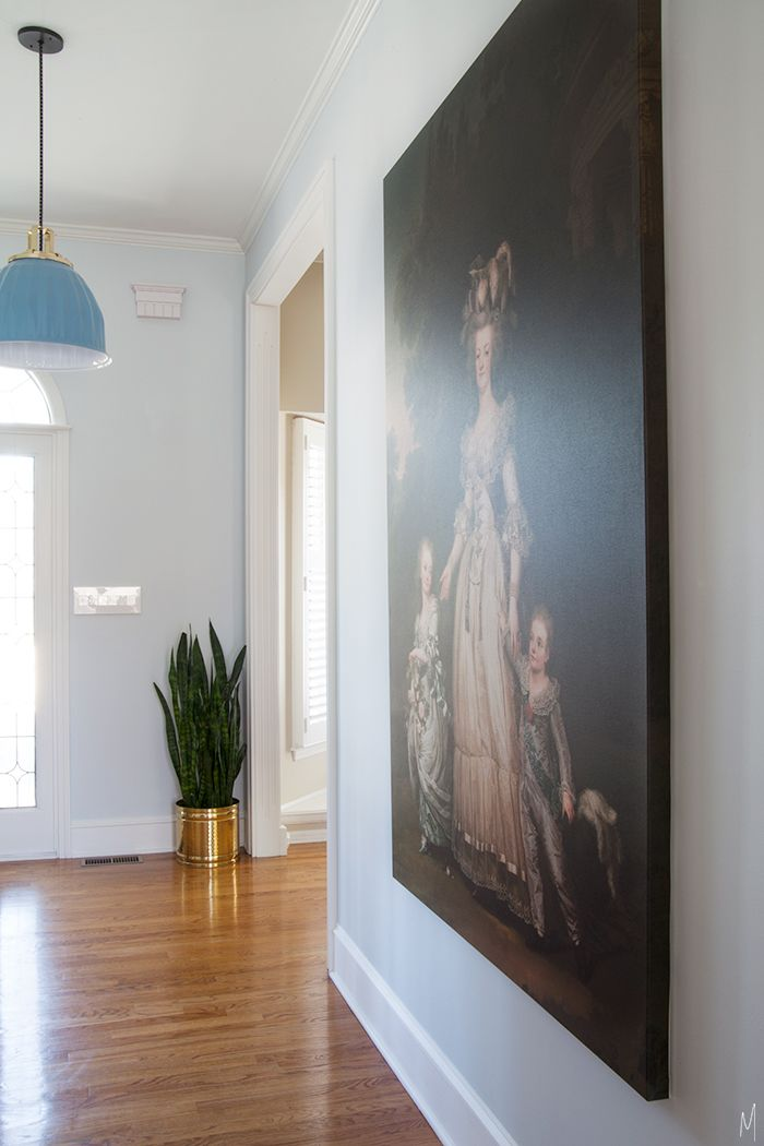 The Makerista: Entry Progress: Big, Custom Art Marie Antoinette