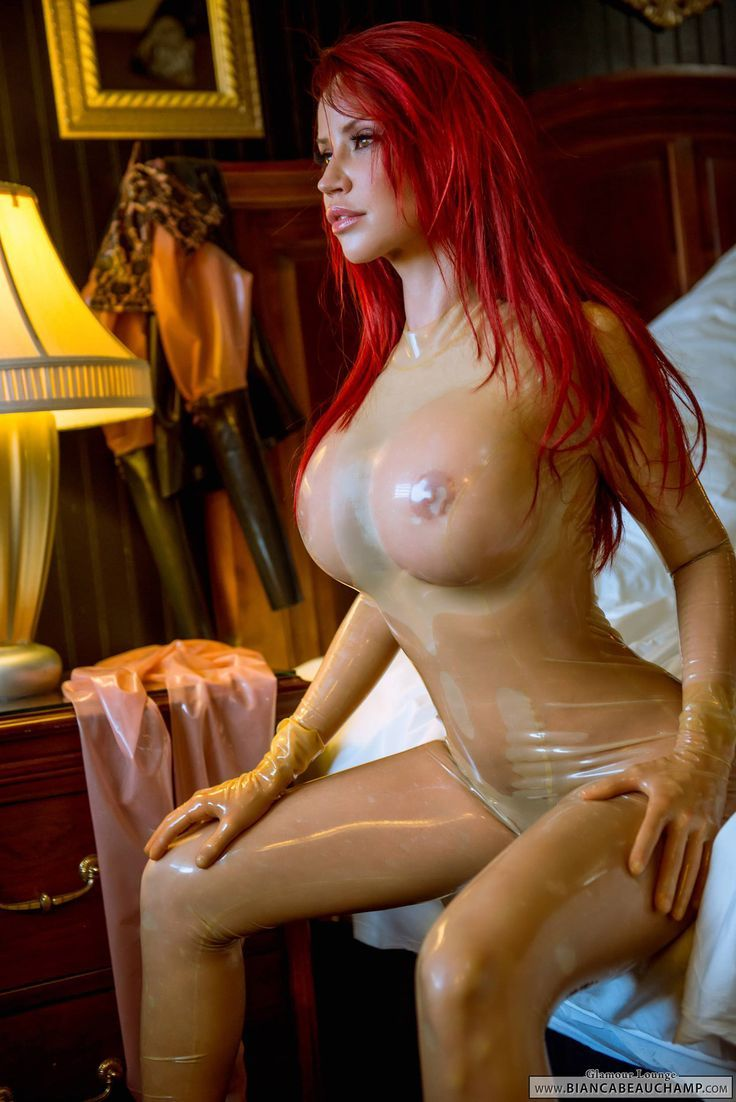 big tits in clear latex - Former crossdresser posting awesome latex and rubber pictures