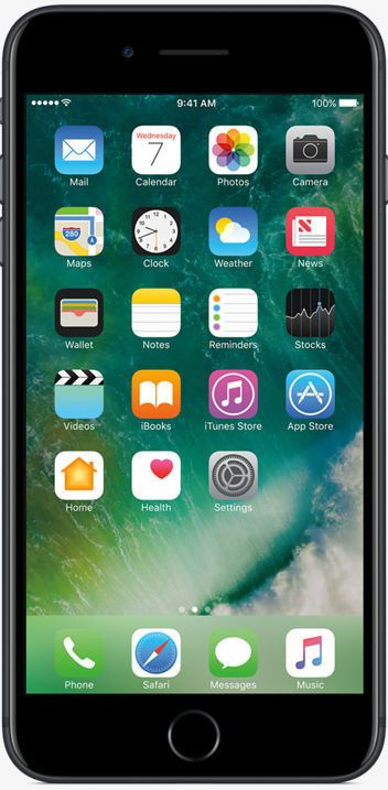 apple iphone 7 plus latest model 32gb matte black t mobile on hand ebay