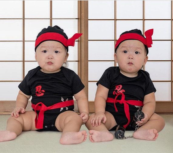 Ninja Baby Outfit - Kung Fu Baby Bodysuit and Hat - Unique Baby Shower Gift - Anime Baby Outfit  sc 1 st  Pinterest & Ninja Baby Outfit Kung Fu Baby Bodysuit and Hat Unique | the cutest ...