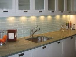 3x12 glass subway tile backsplash
