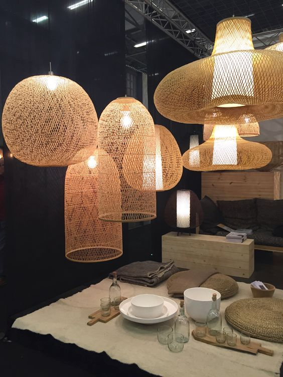Déco · replace the classical with marvelous rattan furniture ideas · luminaire