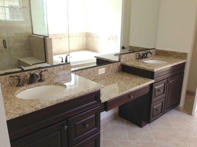 bathroom counters. Interior Design  The Bathroom Countertops Also Ivory Gold Granite Beautiful Big Glass