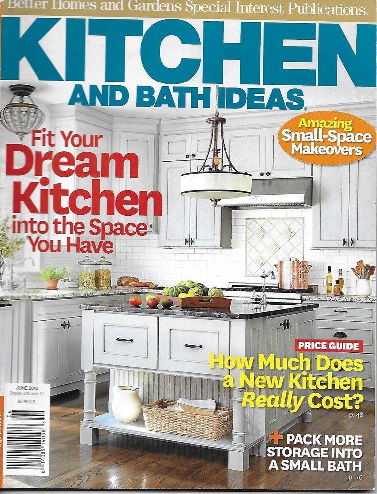 Kitchen And Bath Ideas Magazine Small Space Makeovers Small Bath Storage 2012 Kitchen Design Small Kitchen And Bath Kitchen Remodel Small