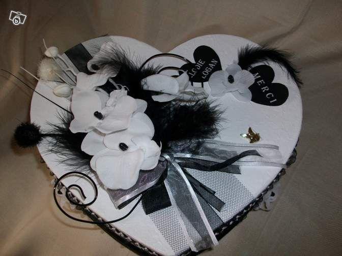 Urne Mariage Coeur
